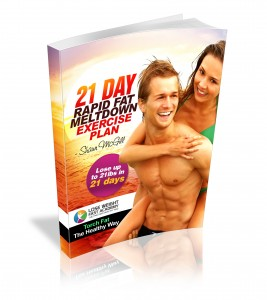 21 Day Rapid Fat Meltdown Exercise Plan 3d